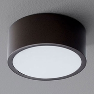 Oxygen 3-600-22 Peepers Modern Oiled Bronze LED Flush Mount Ceiling Light Fixture