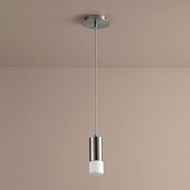 Oxygen 3-607-124 Magneta Modern Satin Nickel LED Mini Hanging Light