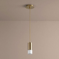 Oxygen 3-607-140 Magneta Modern Aged Brass LED Mini Pendant Lighting Fixture