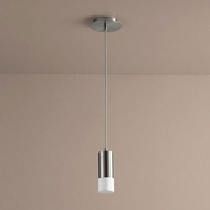 Oxygen 3-607-24 Magneta Contemporary Satin Nickel LED Mini Hanging Pendant Lighting