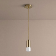 Oxygen 3-607-40 Magneta Modern Aged Brass LED Mini Hanging Pendant Light