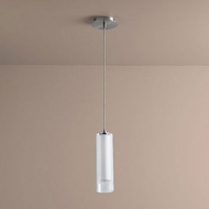 Oxygen 3-609-124 Gratis Contemporary Satin Nickel LED Mini Drop Ceiling Light Fixture
