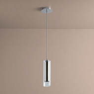 Oxygen 3-609-1414 Gratis Modern Polished Chrome LED Mini Pendant Light