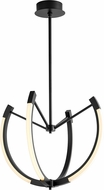 Oxygen 3-6141-15 Utopia Contemporary Black LED 28  Hanging Light Fixture