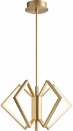 Oxygen 3-6142-40 Acadia Contemporary Aged Brass LED 25  Ceiling Light Pendant