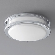 Oxygen 3-618-14 Oracle Contemporary Polished Chrome LED 10.5  Ceiling Light Fixture