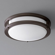 Oxygen 3-618-22 Oracle Modern Oiled Bronze LED 10.5  Ceiling Lighting Fixture