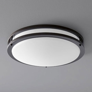 Oxygen 3-620-22 Oracle Modern Oiled Bronze LED 18  Flush Mount Ceiling Light Fixture