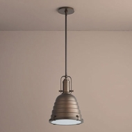 Oxygen 3-6204-22 Sigma Vintage Oiled Bronze LED Hanging Pendant Light