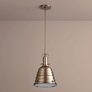 Oxygen 3-6204-25 Sigma Vintage Satin Copper LED Hanging Light Fixture