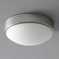 Oxygen 3-622-24 Journey Contemporary Satin Nickel LED Overhead Lighting Fixture
