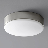 Oxygen 3-625-24 Journey Modern Satin Nickel LED Ceiling Light Fixture