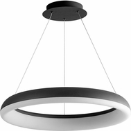 Oxygen 3-63-15 Roswell Contemporary Black LED 23.5  Hanging Pendant Lighting