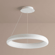 Oxygen 3-63-6 Roswell Contemporary White LED Hanging Light