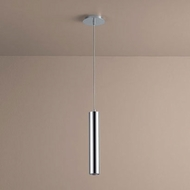 Oxygen 3-635-14 Idol Contemporary Polished Chrome LED Mini Drop Ceiling Light Fixture