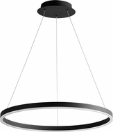 Oxygen 3-64-15 Circulo Contemporary Black LED 23.5  Hanging Light Fixture
