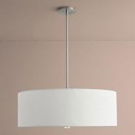 Oxygen 3-640-24 Echo Satin Nickel LED 30  Drum Pendant Light Fixture