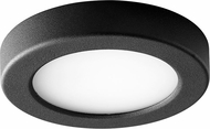 Oxygen 3-644-15 Elite Modern Black LED Interior / Exterior 5.5  Overhead Light Fixture