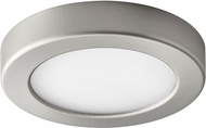 Oxygen 3-644-24 Elite Modern Satin Nickel LED Interior / Exterior 5.5  Ceiling Lighting