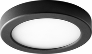 Oxygen 3-645-15 Elite Contemporary Black LED Interior / Exterior 7  Ceiling Light Fixture