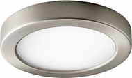 Oxygen 3-645-24 Elite Contemporary Satin Nickel LED Interior / Exterior 7  Ceiling Light Fixture