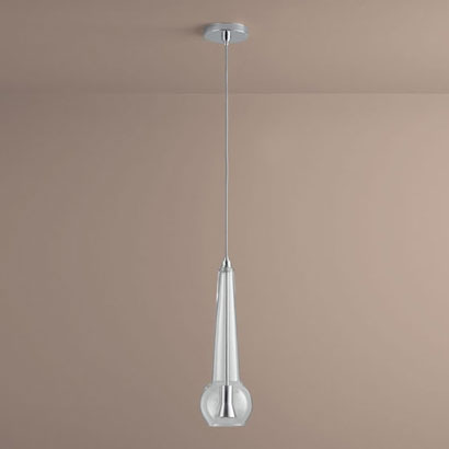 3 650 14 Comet Contemporary Clear Gl