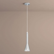 Oxygen 3-652-1314 Liberty Modern Smoke Ombre LED Mini Drop Ceiling Lighting