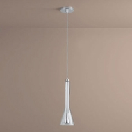 Oxygen 3-652-14 Liberty Contemporary Clear Glass LED Mini Ceiling Light Pendant