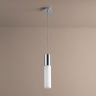 Oxygen 3-653-114 Magnum Contemporary Polished Chrome LED Mini Drop Ceiling Light Fixture