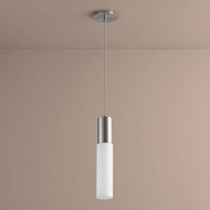 Oxygen 3-653-24 Magnum Modern Satin Nickel LED Mini Pendant Lamp