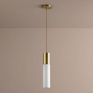 Oxygen 3-653-40 Magnum Modern Aged Brass LED Mini Hanging Light