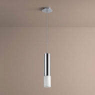 Oxygen 3-654-114 Opus Contemporary Polished Chrome LED Mini Pendant Light Fixture