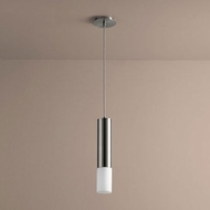 Oxygen 3-654-124 Opus Modern Satin Nickel LED Mini Pendant Lighting Fixture
