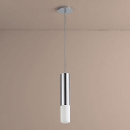 Oxygen 3-654-14 Opus Modern Polished Chrome LED Mini Hanging Pendant Light