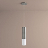 Oxygen 3-654-24 Opus Modern Satin Nickel LED Mini Hanging Light Fixture