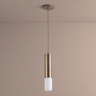 Oxygen 3-654-25 Opus Contemporary Satin Copper LED Mini Drop Lighting