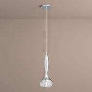 Oxygen 3-655-1314 Pyrus Contemporary Smoke Ombre LED Mini Ceiling Light Pendant