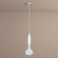 Oxygen 3-655-14 Pyrus Modern Clear Glass LED Mini Ceiling Pendant Light