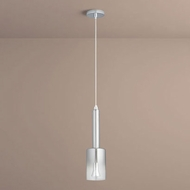 Oxygen 3-656-1314 Spindle Modern Smoke Ombre LED Mini Drop Lighting Fixture