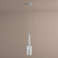 Oxygen 3-656-14 Spindle Contemporary Clear Glass LED Mini Pendant Lighting