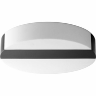 Oxygen 3-662-15 Aurora Contemporary Black LED Flush Mount Lighting Fixture