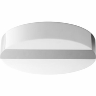 Oxygen 3-662-20 Aurora Modern Black LED Flush Ceiling Light Fixture