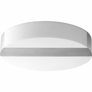 Oxygen 3-662-24 Aurora Contemporary Satin Nickel LED Flush Mount Ceiling Light Fixture