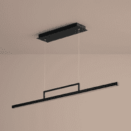 Oxygen 3-67-15 Stylus Contemporary Black LED 48  Kitchen Island Light