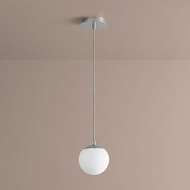 Oxygen 3-670-20 Luna Modern Polished Chrome LED 6  Mini Ceiling Light Pendant