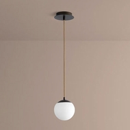 Oxygen 3-670-22 Luna Contemporary Oiled Bronze LED 6  Mini Ceiling Pendant Light
