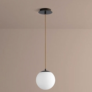 Oxygen 3-671-22 Luna Contemporary Oiled Bronze LED 8  Mini Pendant Light