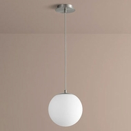 Oxygen 3-672-24 Luna Modern Satin Nickel LED 10  Mini Pendant Light Fixture