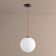 Oxygen 3-673-22 Luna Contemporary Oiled Bronze LED Hanging Pendant Light