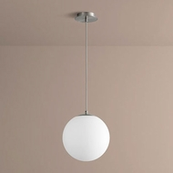 Oxygen 3-673-24 Luna Modern Satin Nickel LED Pendant Hanging Light